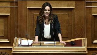 Αχτσιόγλου: Η κυβέρνηση, διά του κ. Σταϊκούρα, αφήνει ανοιχτό το ενδεχόμενο πλειστηριασμών