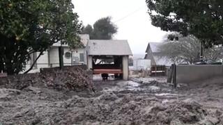 Καλιφόρνια: Έντονες βροχοπτώσεις προκαλούν κατολίσθηση λάσπης στην κομητεία Μοντερέι