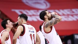 Ολυμπιακός - Μπαρτσελόνα: Οι «ερυθρόλευκοι» απομακρύνονται από τα play offs μετά το 74-76