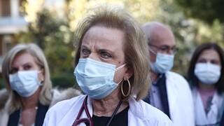 Παγώνη: Αύξηση εισαγωγών στα νοσοκομεία - Τα σχολεία να ανοίξουν με τεστ κάθε εβδομάδα