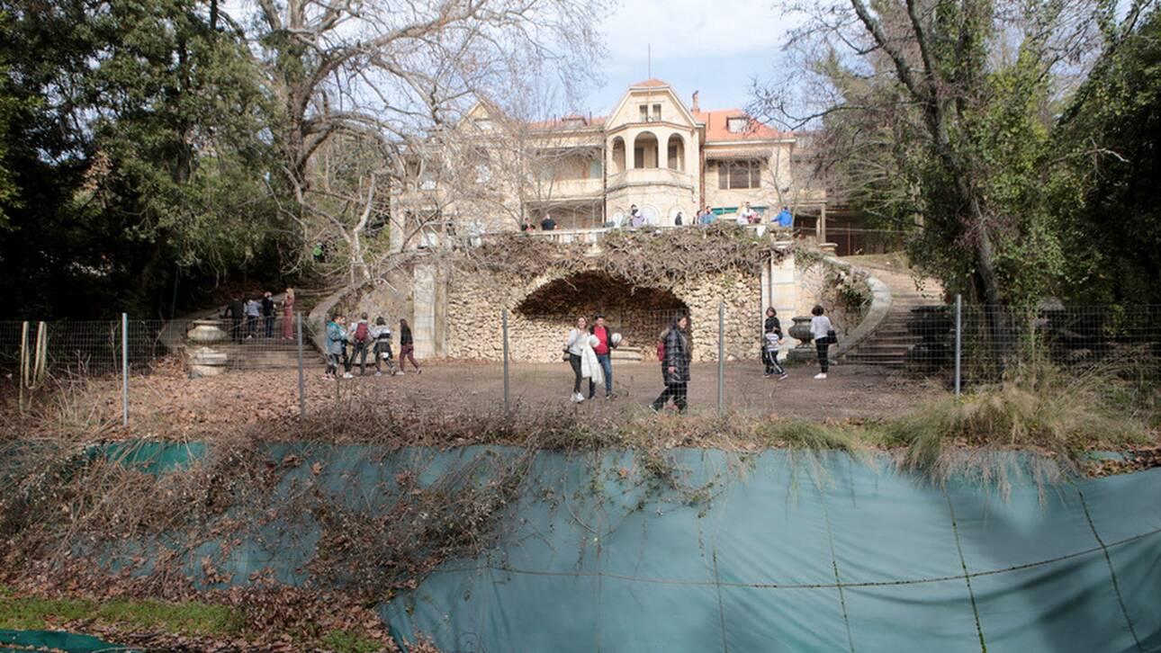 Τα ελληνικά κρασιά στο κτήμα Τατοΐου: Συνάντηση Μενδώνη - Μπουτάρη