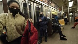 ΗΠΑ: Υποχρεωτική η χρήση μάσκας από την 1η Φεβρουαρίου στα μέσα μεταφοράς