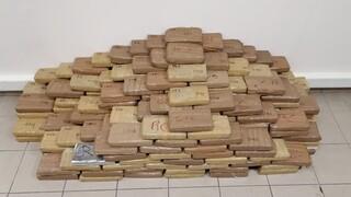 Θεσσαλονίκη: Στην ανακρίτρια οι τρεις συλληφθέντες για τα 324 κιλά κοκαΐνης