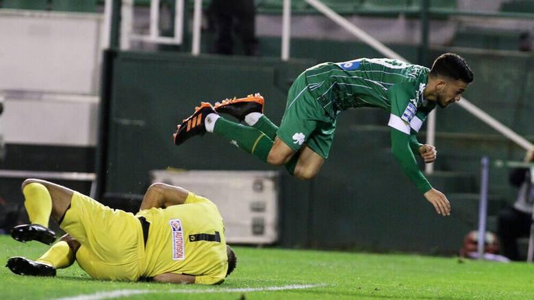 Παναθηναϊκός-Λαμία 0-0: Ισοπαλία για το «τριφύλλι», έσπασε το νικηφόρο σερί