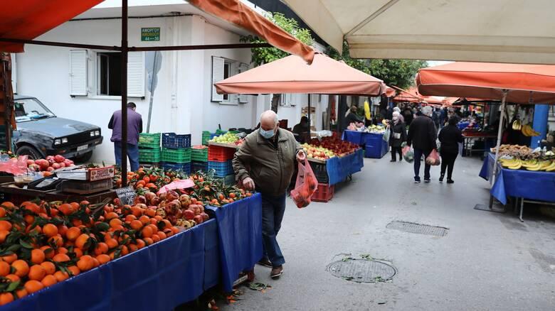 Κορωνοϊός: Διαφωνούν οι παραγωγοί με το νέο νομοσχέδιο για τις λαϊκές αγορές