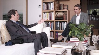 Τηλεφωνική συνομιλία Μητσοτάκη- Αναστασίαδη για τις εξελίξεις στο Κυπριακό