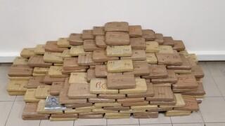 Θεσσαλονίκη: Απολογούνται σήμερα οι τρεις συλληφθέντες με τα 324 κιλά καθαρής κοκαΐνης