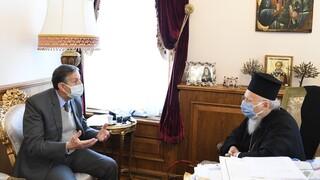 Για Αγία Σοφία και Μονή της Χώρας συζήτησαν Βαρθολομαίος και ειδικός σύμβουλος της UNESCO