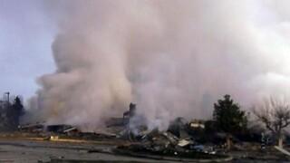 Καστοριά: Ισχυρή έκρηξη ισοπέδωσε ξενοδοχείο