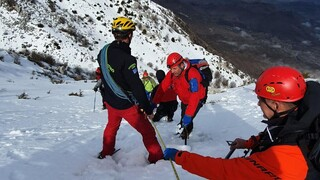 Καρέ - καρέ η επιχείρηση εντοπισμού του άτυχου πιλότου στα Ιωάννινα