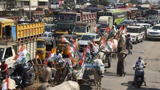 Νέες διαδηλώσεις στην Ινδία κατά των αγροτικών μεταρρυθμίσεων