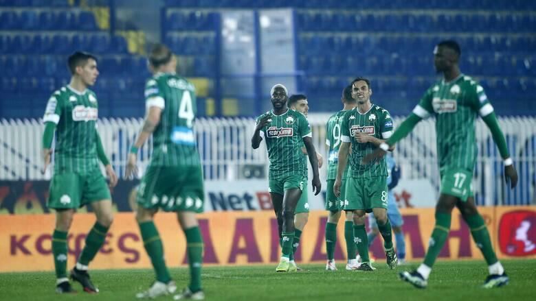 Ατρόμητος-Παναθηναϊκός 2-3: Σπουδαία νίκη για το «τριφύλλι»
