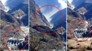Ινδία: Κατέρρευσε τμήμα παγετώνα των Ιμαλαΐων - Αγνοούμενοι 150 εργάτες