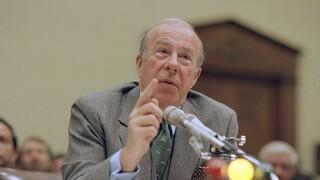 ΗΠΑ: Πέθανε ο Τζορτζ Σουλτς, ο «αρχιτέκτονας» του τερματισμού του Ψυχρού Πολέμου