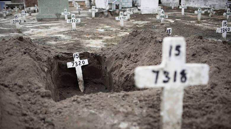 Κορωνοϊός: Πάνω από 231 χιλιάδες νεκρούς μετράει η Βραζιλία