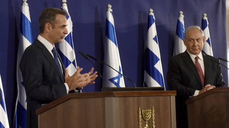 Στο Ισραήλ ο Μητσοτάκης: Ο τουρισμός ψηλά στην ατζέντα των επαφών με Νετανιάχου