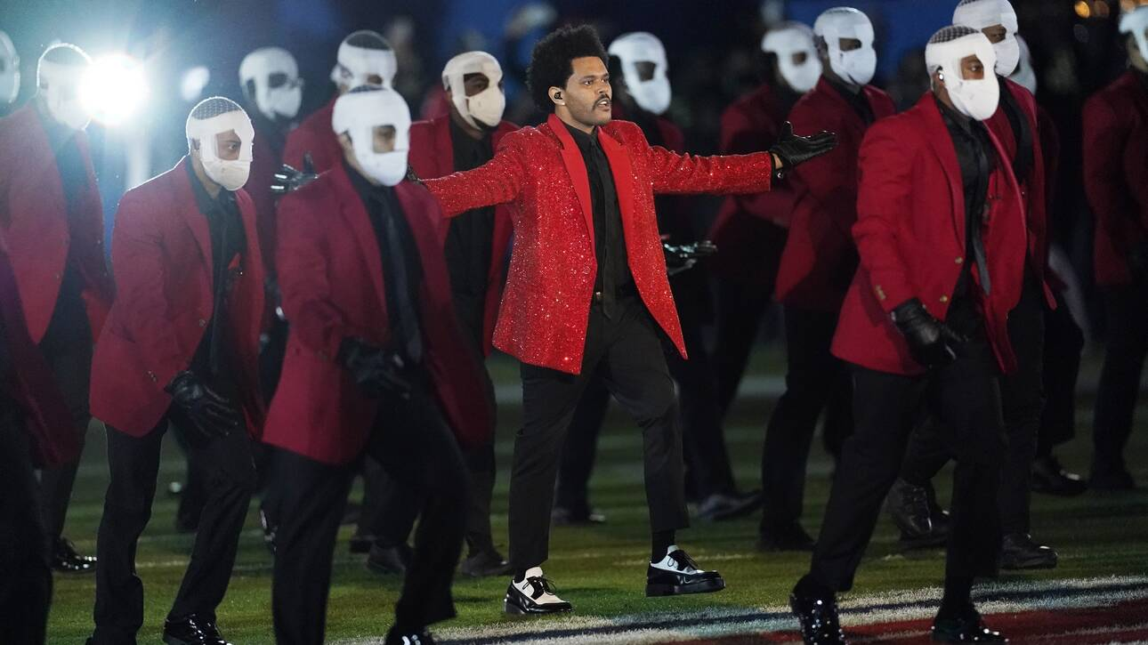 Super Bowl: Ένα πολύ διαφορετικό half-time show από τον Weeknd (vid)