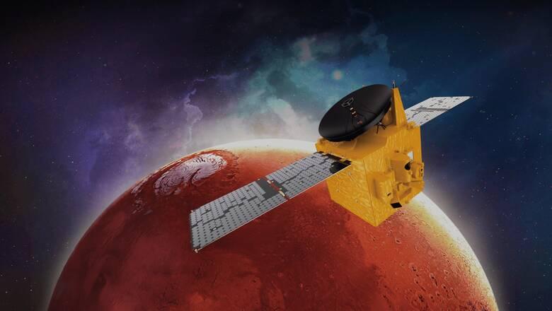 «Συνωστισμός» διαστημικών σκαφών στον Άρη: Εμιράτα, Κίνα, ΗΠΑ διασταυρώνουν τα... ρομπότ τους