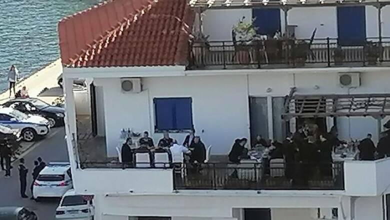 ΣΥΡΙΖΑ: «Διεθνής διασυρμός της Ελλάδας από το κορωνογλέντι Μητσοτάκη»