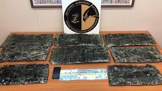 Σύλληψη 51χρονου στο «Ελ. Βενιζέλος» με 10,5 κιλά ηρωίνης