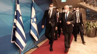 Συμφωνία Μητσοτάκη - Νετανιάχου για «πράσινο διαβατήριο» μετά την άρση του lockdown