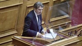 Βουλή - Χρυσοχοΐδης για πανεπιστημιακή αστυνομία: «Μόνον αυτή μπορεί»
