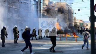 Πανεκπαιδευτικό συλλαλητήριο: Επεισόδια, χημικά και προσαγωγές σε Αθήνα και Θεσσαλονίκη