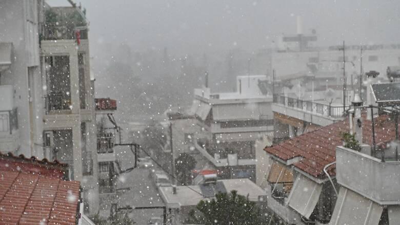 Έκτακτο δελτίο επικίνδυνων καιρικών φαινομένων: Ψύχος και χιόνια από το Σάββατο