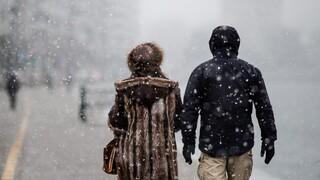 Κακοκαιρία «Μήδεια»: Χιόνι και τσουχτερό κρύο στη Βόρεια Ελλάδα