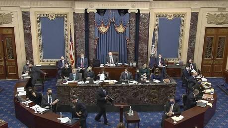 Δίκη Τραμπ μέρα 5: Υπέρ της κλήσης μαρτύρων ψήφισε η Γερουσία