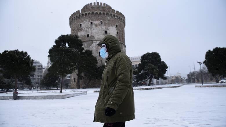 Κακοκαιρία «Μήδεια»: Στα «λευκά» αρκετές περιοχές της Ελλάδας – Πότε θα χιονίσει στην Αττική