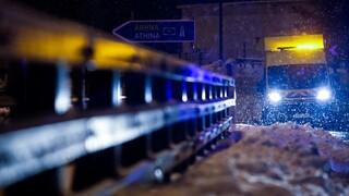 Κακοκαιρία «Μήδεια» - Πολιτική Προστασία: Απαγορεύεται η κυκλοφορία φορτηγών από την Λάρισα και κάτω