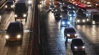 Κακοκαιρία «Μήδεια»: Κυκλοφοριακό χάος στην Αθηνών-Λαμίας ― Διεκόπη η κυκλοφορία στην Καλυφτάκη