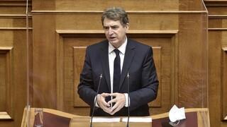 Χρυσοχοΐδης: Η Εθνική Οδός έκλεισε με δική μου απόφαση, για να μην κινδυνέψει κανείς