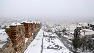 Κακοκαιρία «Μήδεια»: Πολικές θερμοκρασίες και παγετός στη Βόρεια Ελλάδα
