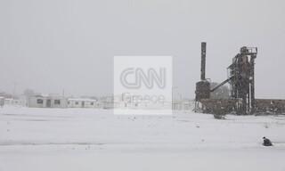 Κακοκαιρία «Μήδεια»: Το χιόνι «κάλυψε» τη Δυτική Αττική