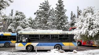 Κακοκαιρία «Μήδεια»: Τροποποίηση λεωφορειακών γραμμών του ΟΑΣΑ
