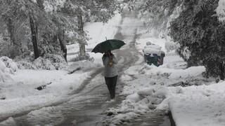 Κακοκαιρία «Μήδεια»: Στους -19,4 βαθμούς η θερμοκρασία στη Φλώρινα
