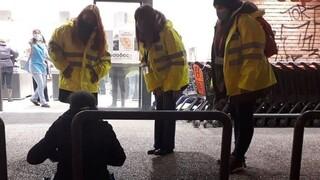 Κακοκαιρία «Μήδεια»: 80 παρεμβάσεις για την φροντίδα των αστέγων τη νύχτα που πέρασε