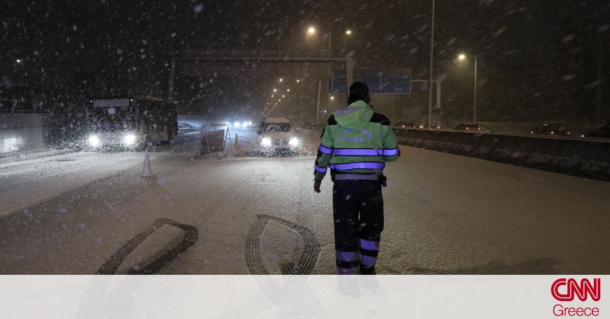 «Μήδεια»: Πώς θα εξελιχθεί η κακοκαιρία τις επόμενες ώρες – Πότε υποχωρεί ο χιονιάς