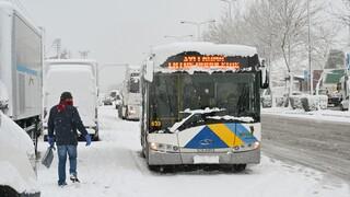 Κακοκαιρία «Μήδεια»: Κλειστοί δρόμοι σήμερα - Πώς θα κινηθούν τα ΜΜΜ