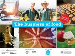 The Business of Food: Δωρεάν εκπαιδευτικό πρόγραμμα για την ένταξη των ανέργων και ευάλωτων ομάδων