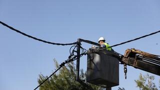 ΔΕΔΔΗΕ: Έως το βράδυ η πλήρης αποκατάσταση του ρεύματος στην Αττική