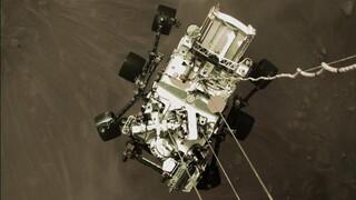 Νέες εντυπωσιακές φωτογραφίες από τον Άρη έστειλε το Perseverance