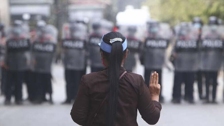 Νέα αιματηρή διαδήλωση στη Μιανμάρ - Δύο νεκροί και τουλάχιστον 30 τραυματίες