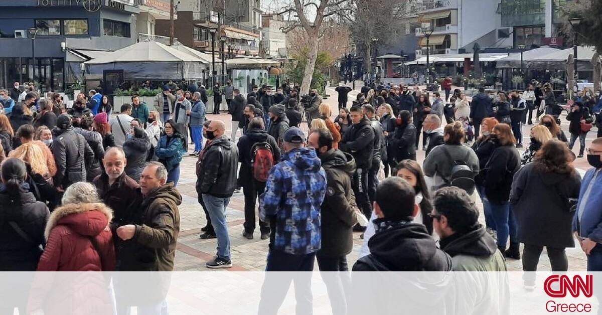 Θεσσαλονίκη: Συνεχίζονται οι διαμαρτυρίες για τα σκληρά μέτρα – Συγκέντρωση κατοίκων στον Εύοσμο