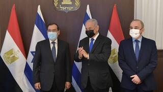 Ισραήλ και Αίγυπτος διευρύνουν τη συνεργασία τους στην Ανατολική Μεσόγειο