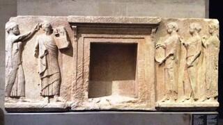 Εκμαγεία μνημείου που βρίσκονταν στο Λούβρο παραδόθηκαν στο αρχαιολογικό μουσείο της Θάσου