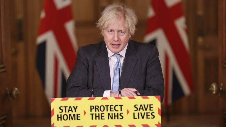Lockdown - Βρετανία: «Οδικό χάρτη» χαλάρωσης των μέτρων ανακοινώνει ο Τζόνσον
