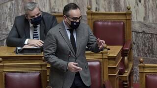 Ενημέρωση Κοντοζαμάνη στη Βουλή για εμβολιασμό ευπαθών ομάδων